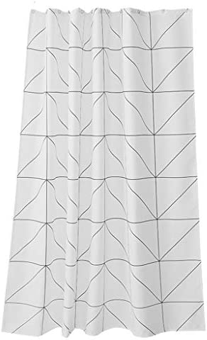 HHMMG HHMMG HHMMG Doccia Tenda Set Impermeabile Ispessimento Muffa Tenda Bagno Parasole con Gancio 9e5e87