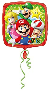 Amscan-3200801Super Mario Bros Foil Globos