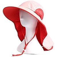 Sombrero Hembra Verano Cuello Sombra Pantalla Solar Escalada Al Aire Libre De Secado Rápido Protector Solar Viajes Plegables Playa Sol Sombrero,Pink