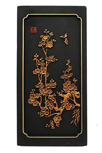 sollievo Stereo Casa tappezzerie Accessori senza cornice parete Ornamenti classica cinese Attivato Carving artigianato di carbonio Protezione ambientale regalo , L