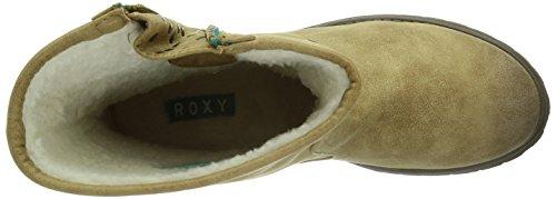 Roxy Logger Sherpa, Bottes femme Marron (Braun (Sand/Snd)
