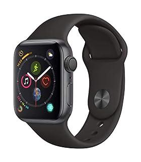 AppleWatch Series4 (GPS) con caja de 40mm de aluminio en gris espacial y correa deportiva negra (B07HKT7HJR) | Amazon price tracker / tracking, Amazon price history charts, Amazon price watches, Amazon price drop alerts