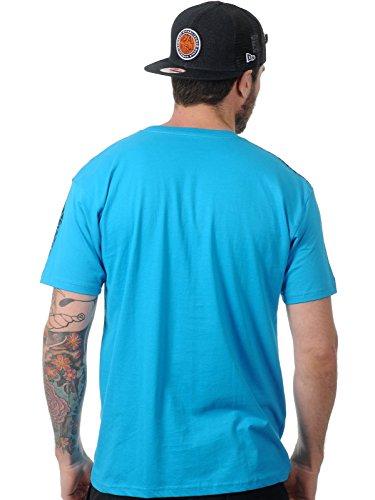 Metal Mulisha Herren T-Shirt Base türkisblau - S-L normal, ab XL etwas grösser Türkis