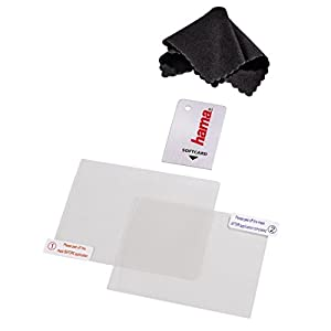 Hama 4in1 Displayschutz-Set (für Nintendo New 3DS, 2x Schutzfolien, Mikrofaserreinigungstuch, Softcard)