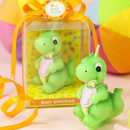 rzen Party Dekoration Junge Kreative Geburtstag Kerze Handwerk Cartoon Kerze Dinosaurier Baby Geschenke Dekoration ()