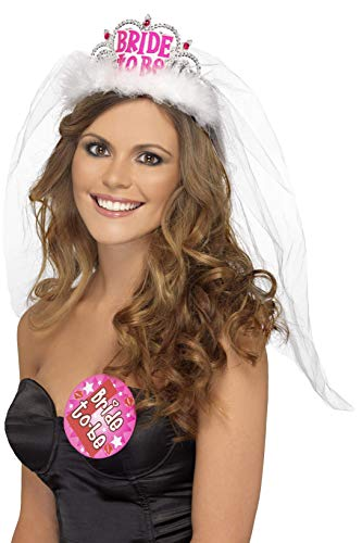 "Diadem mit Schleier ""Bride to be"""
