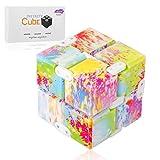 Funxim Fidget Cube Décompression Jouet Infinity Cube, Stress de Jouet de Doigt de Fidget et soulagement d'inquiétude, tuant Le Temps Fidget Joue Le Cube Infini pour Le Personnel de Bureau