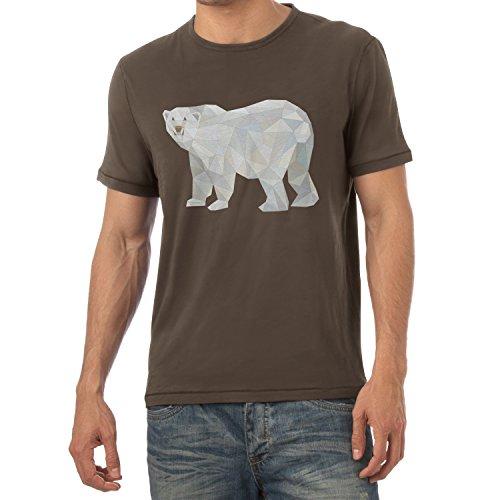 TEXLAB - Poly Polar Bear - Herren T-Shirt Braun