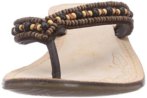 Dockers by Gerli - 34fl203-107300, Sabot Donna Marrone (Braun (braun 300))