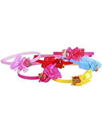 Hair Accessories For Kids / Hair Bands For Baby Girls / Kids Hair Bands - 6 Pcs