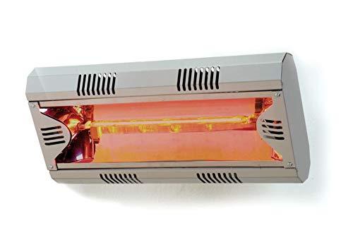 Moel Hathor Infrarot Heizstrahler 791 aus Aluminium mit 2000 Watt zur Wandmontage - 2