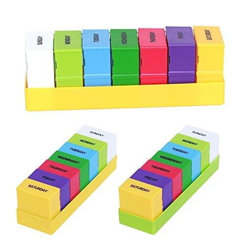 Useful 28-slot Travel Pill Box Storage Weekly 7-day Medicine Container Holder Medical Storage Box Kit Living Supplies New Fine Workmanship Storage Boxes & Bins