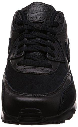 Nike Air Max 90 Premium, Chaussures de Gymnastique Homme Noir (Black/black 012)