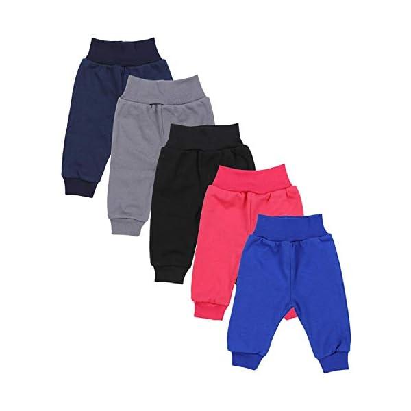 TupTam Pantalones de Bebé. Paquete de 5 1