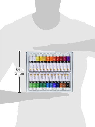 confronta il prezzo Royal & Langnickel - Confezione da 24 colori a tempera a guazzo da 12 ml miglior prezzo