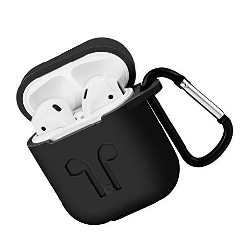 Vkospy Waterproof Silicone Case for Airpods Protective Sleeve for Airpods Silicone Wireless Earphone Case Cover Case Silicon Sleeve