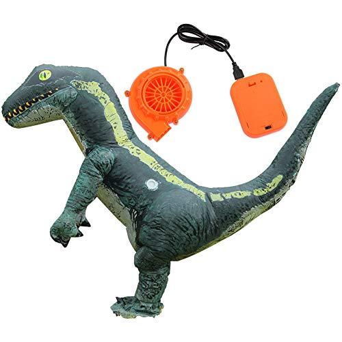 VGEBY1 Aufblasbares Cartoon Kostüm, niedliches Dinosaurier-Cosplay-Partykostüm Tierförmiges aufblasbares Kostüm (Niedliche Dinosaurier Kostüm Für Erwachsene)