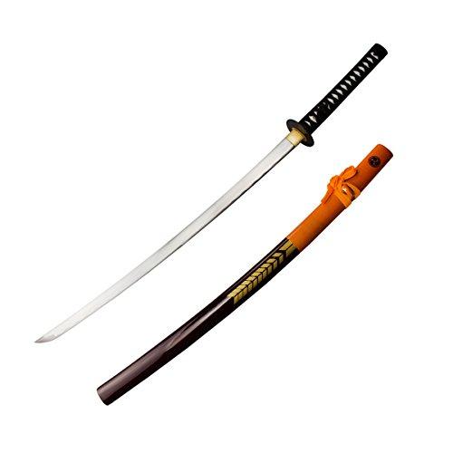 DerShogun 47 Ronin Katana Samuraischwert mit scharfer Klinge aus 1045 Carbonstahl Ab 18