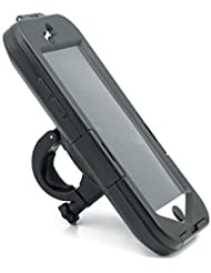 QUMOX Bike Wasserdicht Halterung für Apple iPhone 6 Fahrrad Handyhalter schwarz