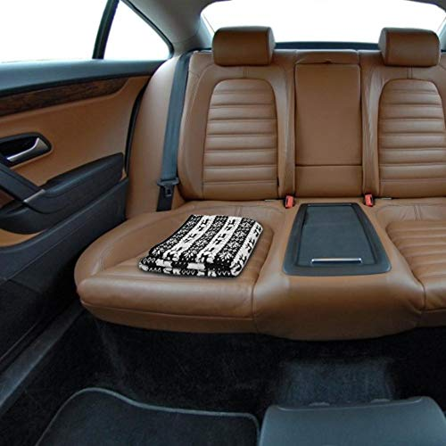 Greatideal 12V Auto-Heizdecke Snowflake Elk Pattern Auto-Heizdecke Auto-Heizdecke Energiesparende, beheizte Reisedecken