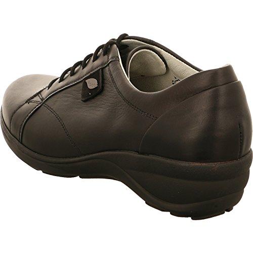 Waldläufer 305007202001, Scarpe stringate donna nero schwarz Weite H schwarz Weite H