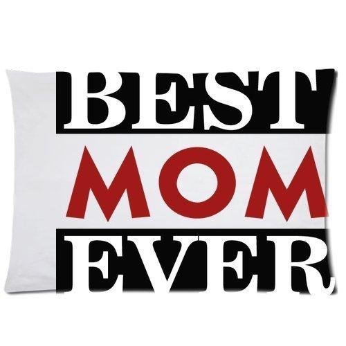 Speziell für Mom's Day-Motiv, rechteckig, mit I Love My Mom and Family Kissenbezüge 16 x 24 (zwei Seiten), Nummer 5