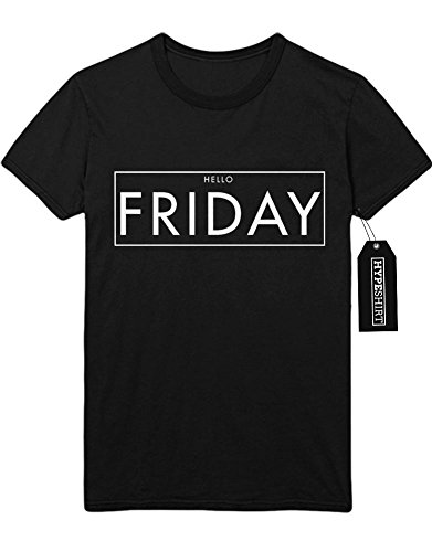 T-Shirt HELLO FRIDAY F959495 Schwarz