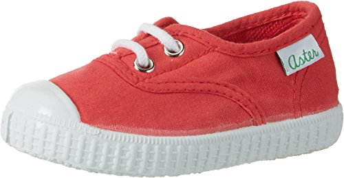 Aster Iggy, Baskets mode Mixte Enfant Rot (Rouge Grenadine)