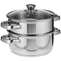 Vinod Cookware 2 Tier Steamer 18cm
