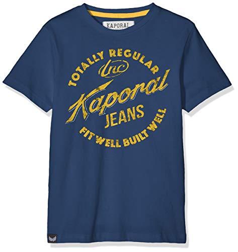 Kaporal - AZAR - T-Shirt - Garçon - Bleu (Blue Us) - 16 ans (Taille fabricant:16 ans)