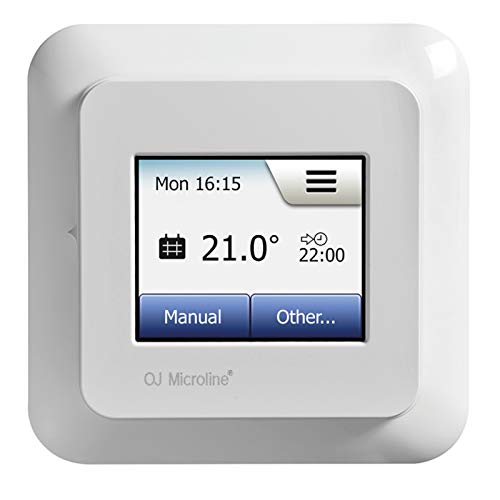 Digital OCD5 Touchscreen Thermostat-Regler Raum-Thermostat Raumregler Unterputz