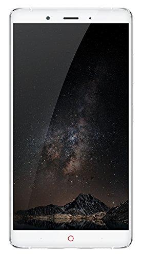 "Nubia Z11 Max - Smartphone de 6"" (memoria interna de 64 GB, 4 GB de RAM, cámara de 16 MP, Android 6.0.1) color plata"
