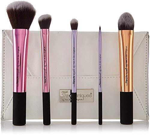 Real Techniques Sam's Picks Makeup Brush Set (Rt-1415, Onesize) - Pack of 6