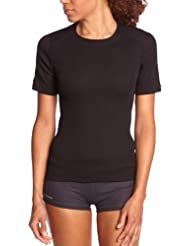 Odlo Damen Shirt Short Sleeve Crew Neck Warm
