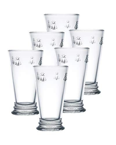 La Rochere Set Of 6, 14-ounce Napoleon Bee Double Old Fashioned Glasses by La Rochere 1 Double Old Fashioned