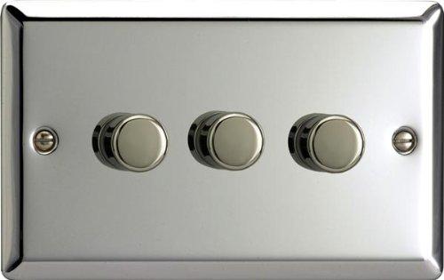 Varilight Mirror Chrome, LED Dimmer Switch -