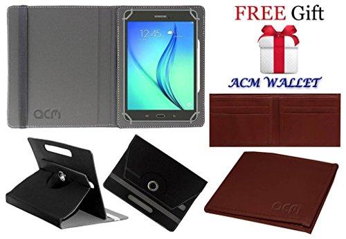 Acm Rotating 360° Leather Flip Case For Samsung Galaxy Tab A 8.0\