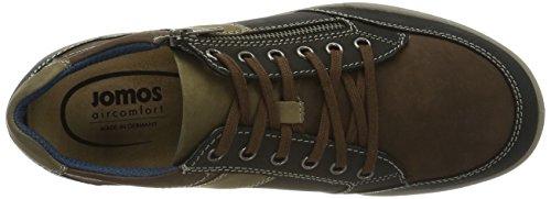 Jomos Carerra, Chaussures à Lacets Homme Mehrfarbig (Schwarz/capucino)