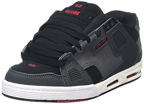 Globe Sabre Grey Black Red Grau (Grey/Black/Red)