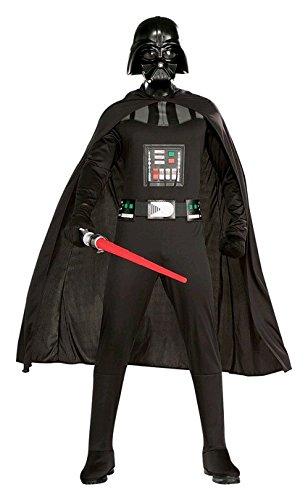 schwarzes Star Wars Darth Vader Herrenkostüm, Größe:L (Darth Vader-halloween-kostüm)