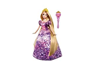 Mattel - Disney Princesses - W4230 - Poupées mannequins - Princesse Raiponce enchantée