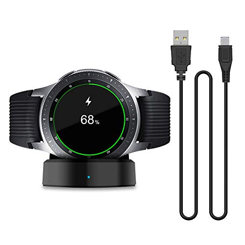 erät Kompatibel Mit Samsung Galaxy Smart Watch Ersatz Tragbares Drahtloses Ladegerät Dock Wireless Cradle Charger ()