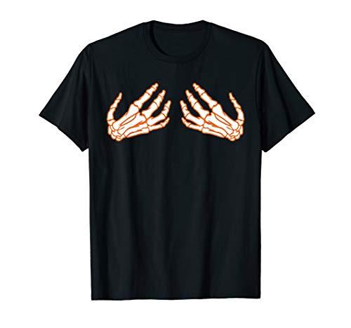 Skelett Hände BH Halten Brüste Lustig Halloween Kostüm  - Hand Bh Kostüm