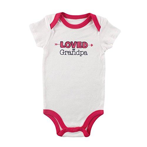 Luvable Friends Baby Body proverbi di ragazze Vest White Grandpa 9-12 (Grandpas Ragazza)