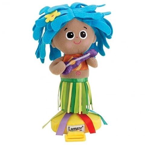 Lamaze 27136 - Hula-Mädchen, fördert Babys motorische Fähigkeiten