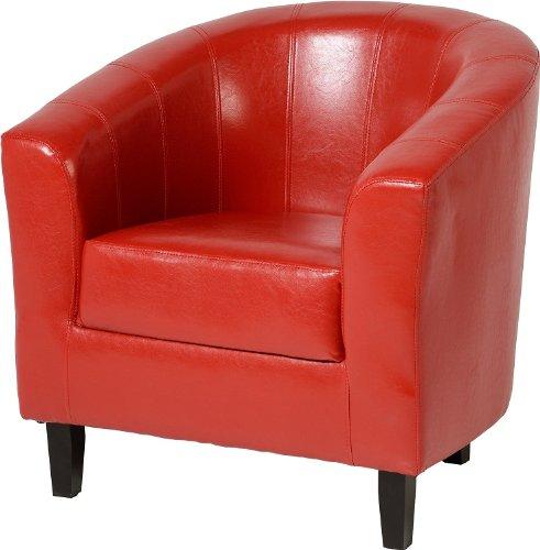 Seconique Tempo Tub Chair Red