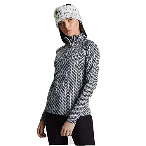 Half Zip Knit Top (Dare 2b Womens Motif II Jaquard Knit Half Zip Baselayer Top)