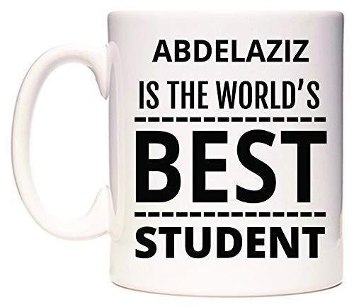 World's Best Is Student Di The Abdelaziz Wedomugs Tazza 54jc3AqRL