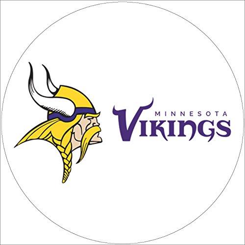 Fondant Tortenaufleger Tortenbild Geburtstag NFL Minnesota-Vikings T1 (Vikings Minnesota Geburtstag)