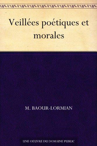 Livre Veillées poétiques et morales epub pdf